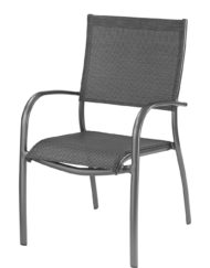 Fauteuil Elegance OCEO Monobloc grey-bb