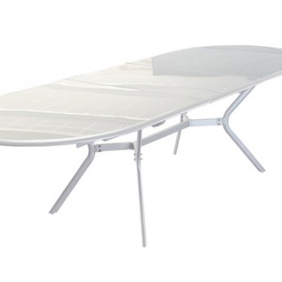 Table Brasa blanche OCEO