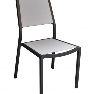 Chaise Florence OCEO black-gris