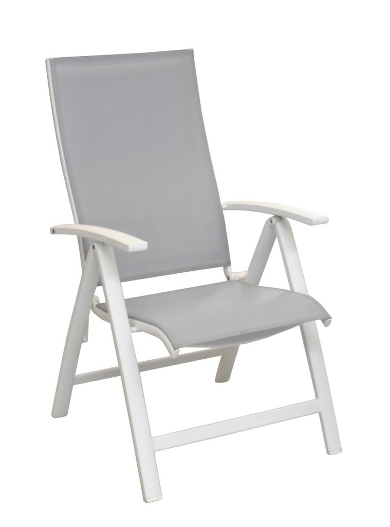 Fauteuil Elegance OCEO multipo blanc-s-gris