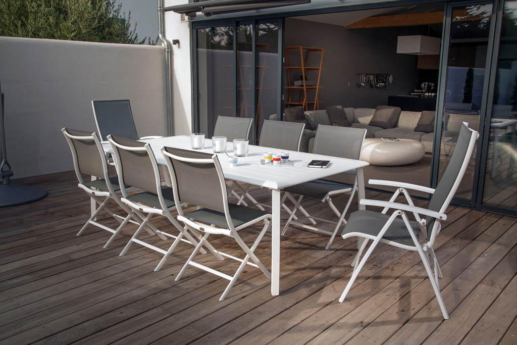 table rectangle azur oc o sun mobilier. Black Bedroom Furniture Sets. Home Design Ideas