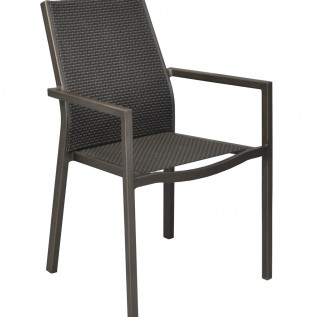 Fauteuil Flore OCEO brun