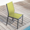 Chaise Flore OCEO Royal-Lime