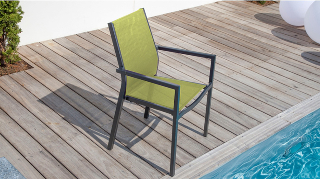 Fauteuil Flore OCEO Lime