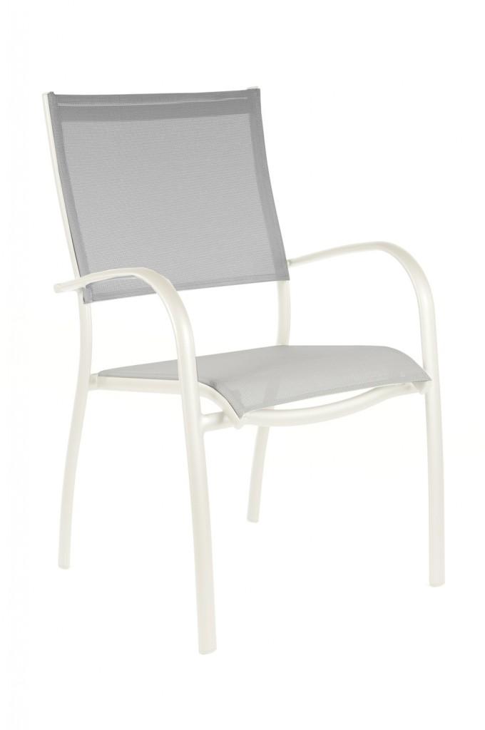 Fauteuil Elegance OCEO Monobloc blanc