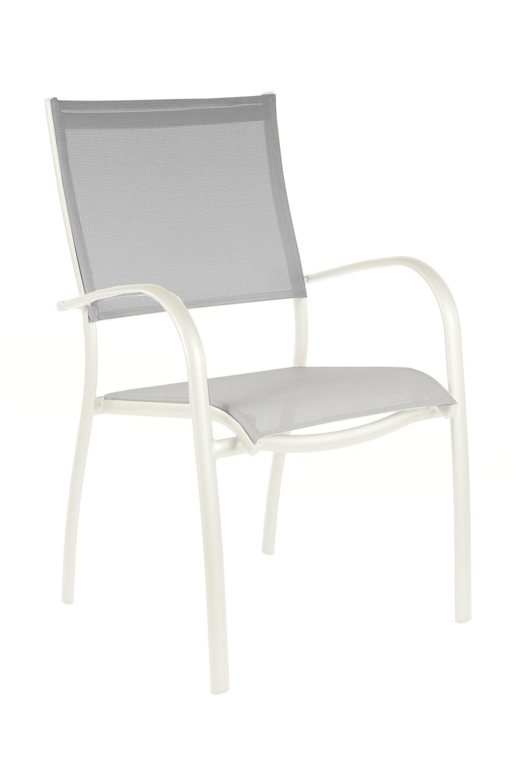 fauteuil elegance oceo monobloc blanc sun mobilier. Black Bedroom Furniture Sets. Home Design Ideas