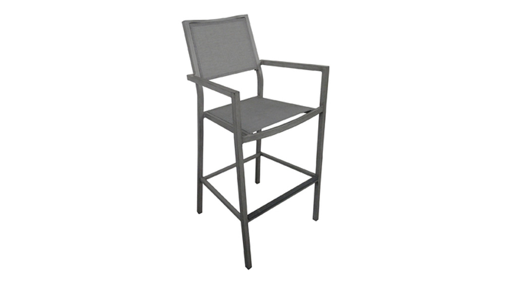Fauteuil haut Florence OCEO ice-argent