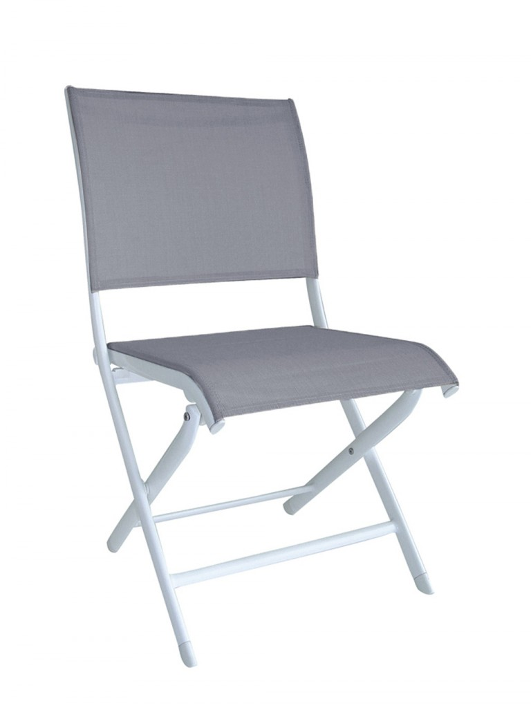 Chaise Elegance OCEO blanc-s-argent
