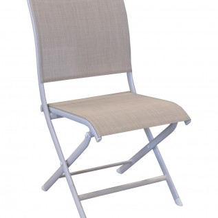 Chaise Elegance OCEO greige-lin