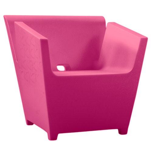 Fauteuil RAFFY Qui est Paul pink