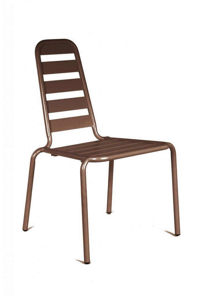 Chaise Menu rouille OCEO