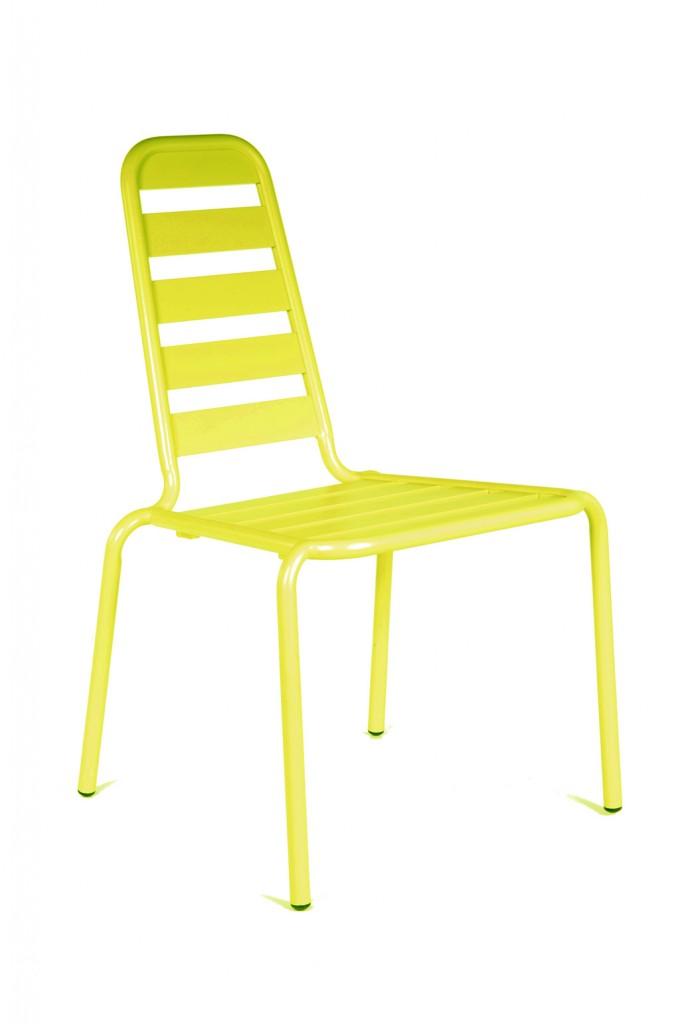 Chaise Menu lemon OCEO