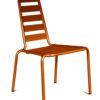 Chaise Menu orange OCEO