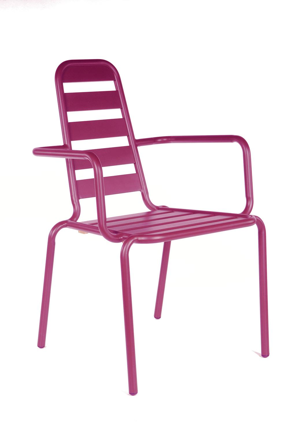 fauteuil menu fushia oceo sun mobilier. Black Bedroom Furniture Sets. Home Design Ideas