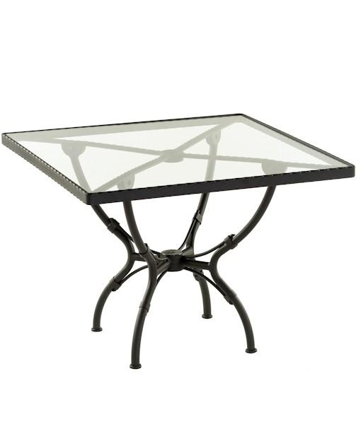 table repas carr e kross sifas sun mobilier. Black Bedroom Furniture Sets. Home Design Ideas