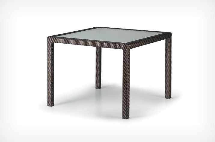 TABLE REPAS CARREE PANAMA DEDON