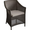 Fauteuil Chicory OCEO résine brown