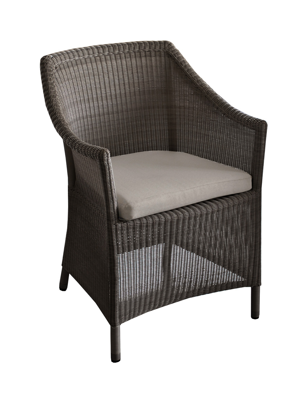 fauteuil chicory oceo r sine brown sun mobilier. Black Bedroom Furniture Sets. Home Design Ideas