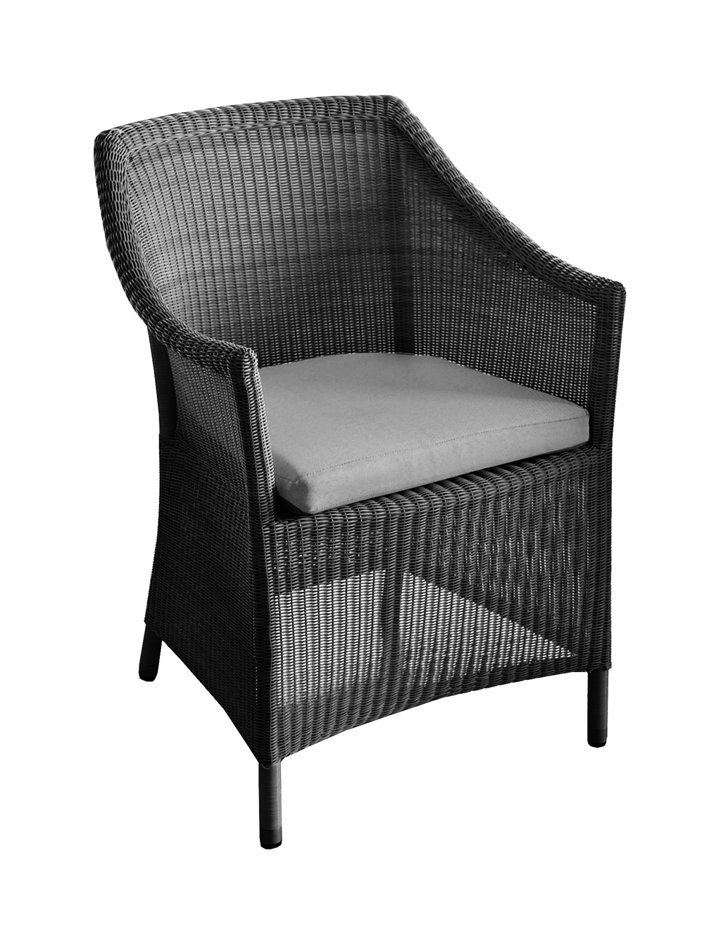 fauteuil chicory oceo r sine noir sun mobilier. Black Bedroom Furniture Sets. Home Design Ideas