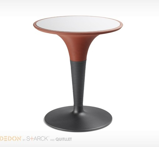 table bistrot ronde play dedon sun mobilier. Black Bedroom Furniture Sets. Home Design Ideas