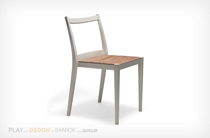 Chaise PLAY Dedon bois/métal