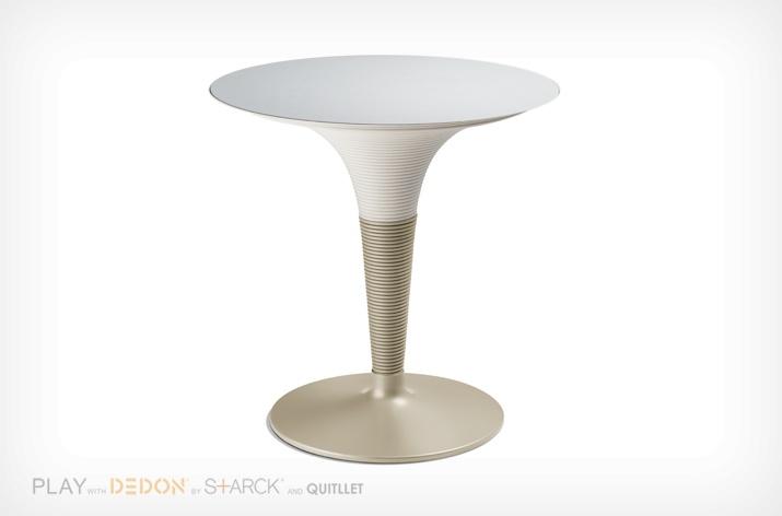 table bistrot ronde play dedon sun mobilier. Black Bedroom Furniture Sets. Home Design Ideas