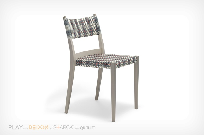 Chaise Play Dedon carreaux