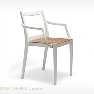 Fauteuil PLAY Dedon bois/métal
