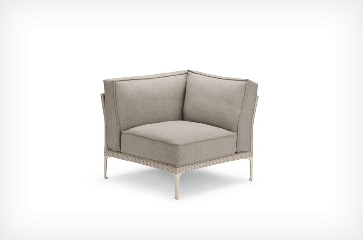 Canap 3 places rayn dedon sun mobilier for Canape exterieur starck
