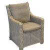 Fauteuil dining Provence + housse OCEO