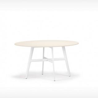 TABLE ronde SEAX DEDON blanche