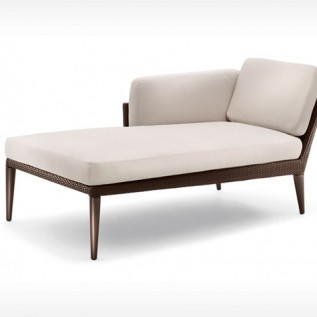 DAYBED GAUCHE TRIBECA DEDON