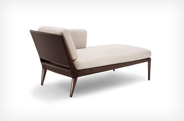 DAYBED DROIT TRIBECA DEDON