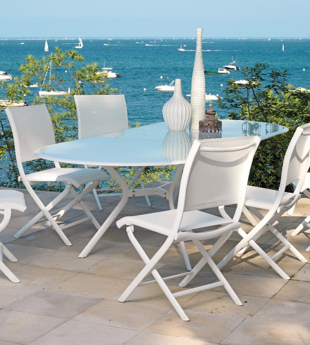 table ovale BILBAO Océo - Sun Mobilier