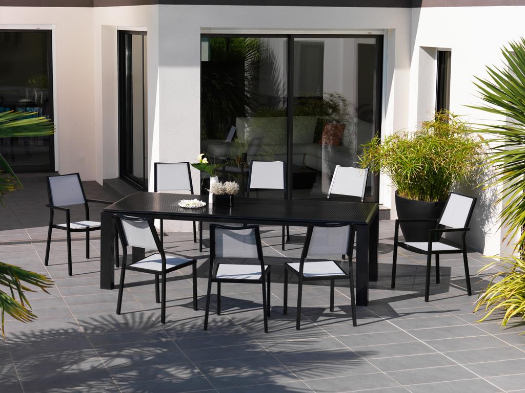 table florence oc o sun mobilier. Black Bedroom Furniture Sets. Home Design Ideas