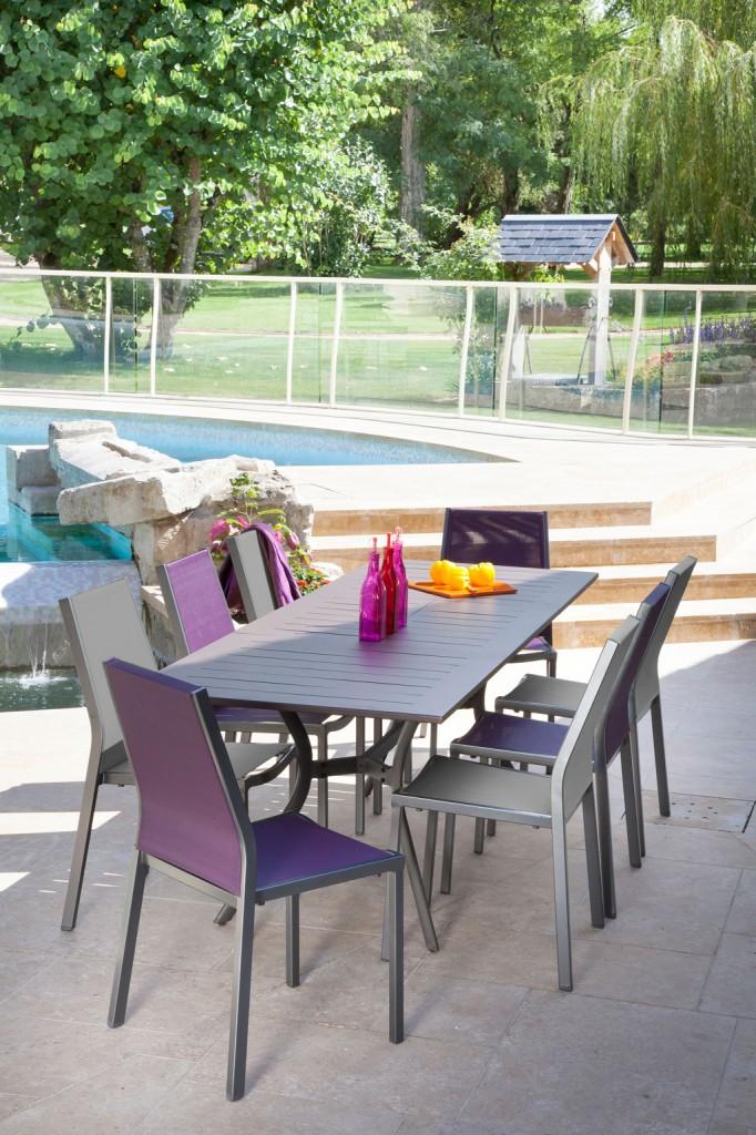 table seville oc o sun mobilier. Black Bedroom Furniture Sets. Home Design Ideas