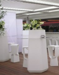 Table haute GARDEN PARTY Qui est Paul 2