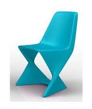 chaise ISO Qui est Paul bleu