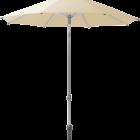 Parasol Alu push Glatz