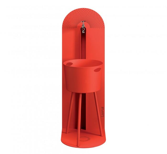 Petite fontaine en acier zingue sun mobilier for Petite fontaine exterieur