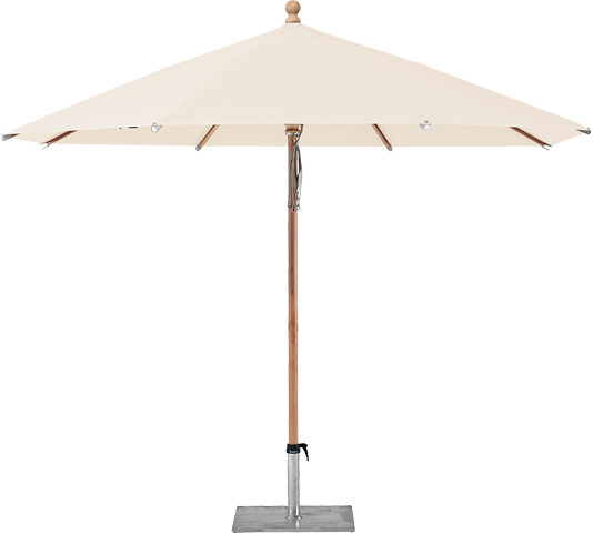 Parasol Piazzino Glatz