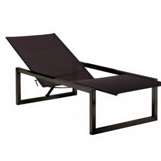 Chaise longue NINIX Royal Botania noire